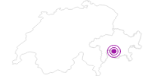 Unterkunft Mäderhaus in Viamala: Position auf der Karte
