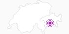 Unterkunft Rüedihus in Viamala: Position auf der Karte