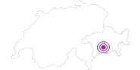 Unterkunft Wohnung Altes Schulhaus in Viamala: Position auf der Karte