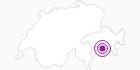 Unterkunft Vorderbergalga Jäger in Viamala: Position auf der Karte