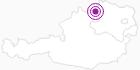 Unterkunft Gasthof Karlstifterhütte im Waldviertel: Position auf der Karte