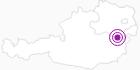 Unterkunft Gasthof Ramswirt in den Wiener Alpen in Niederösterreich: Position auf der Karte