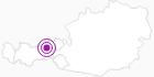 Unterkunft Gästehaus Ortner in der Silberregion Karwendel: Position auf der Karte
