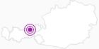 Unterkunft Ferienwohnung Klocker in der Silberregion Karwendel: Position auf der Karte