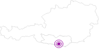 Unterkunft KLAGENFURTER HÜTTE in der Carnica-Region Rosental: Position auf der Karte