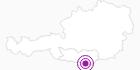 Unterkunft Gasthof Sereinig in der Carnica-Region Rosental: Position auf der Karte