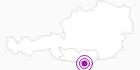 Unterkunft Gasthaus Bodenbauer in der Carnica-Region Rosental: Position auf der Karte