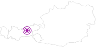 Unterkunft Blauberg-Alm, 1.540 m am Achensee: Position auf der Karte