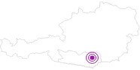 Unterkunft Gasthaus Liegl/Sortschan in der Erlebnisregion Hochosterwitz - Kärntenmitte: Position auf der Karte