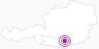 Unterkunft Gasthof Bleimaier in der Erlebnisregion Hochosterwitz - Kärntenmitte: Position auf der Karte
