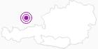 Unterkunft Kleinhinterberger Hütte in der Erlebnisregion Hochosterwitz - Kärntenmitte: Position auf der Karte