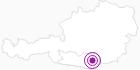 Unterkunft BERGGASTHOF - PENSION JAUNTALBLICK in der Erlebnisregion Hochosterwitz - Kärntenmitte: Position auf der Karte