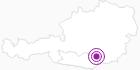 Unterkunft GASTHOF - PENSION FRIESACHERHOF in der Erlebnisregion Hochosterwitz - Kärntenmitte: Position auf der Karte