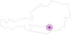 Unterkunft GASTHOF - PENSION GRÄBERNERWIRT in der Erlebnisregion Hochosterwitz - Kärntenmitte: Position auf der Karte