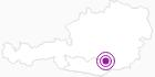 Webcam Klippitztörl: Bergstation Hochegger in der Erlebnisregion Hochosterwitz - Kärntenmitte: Position auf der Karte
