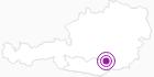 Unterkunft GASTHOF-PENSION BUCHBAUER in der Erlebnisregion Hochosterwitz - Kärntenmitte: Position auf der Karte
