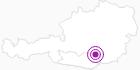 Unterkunft HOTEL MOSELEBAUER in der Erlebnisregion Hochosterwitz - Kärntenmitte: Position auf der Karte