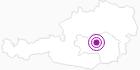 Unterkunft Ferienhaus Rauch in der Alpenregion Nationalpark Gesäuse: Position auf der Karte