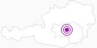 Unterkunft Hochreichart-Schutzhaus in der Alpenregion Nationalpark Gesäuse: Position auf der Karte
