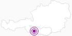 Unterkunft Knotenhütte-Oberberger Alm im Oberdrautal: Position auf der Karte