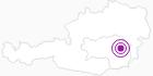 Unterkunft Ferienhaus Staberhof in Süd & West Steiermark: Position auf der Karte