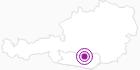 Unterkunft Bauernhof Reiterer in der Erlebnisregion Hochosterwitz - Kärntenmitte: Position auf der Karte