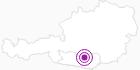 """Unterkunft Ferienparadies """"Hemmadorf"""" in der Erlebnisregion Hochosterwitz - Kärntenmitte: Position auf der Karte"""