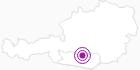 Unterkunft Ferienhaus Hubert in der Erlebnisregion Hochosterwitz - Kärntenmitte: Position auf der Karte