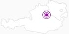 Accommodation Gasthaus Pfandlwirt in the Mostviertel: Position on map