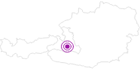 Unterkunft Hotel Johanneshof GmbH im Grossarltal: Position auf der Karte