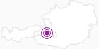 Webcam Grossarltal: Bergblick vom Kreuzkogel (1880m) im Grossarltal: Position auf der Karte