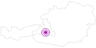 Unterkunft Harbachhütte Laireiter im Grossarltal: Position auf der Karte