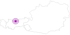 Unterkunft Bruggerhof in der Olympiaregion Seefeld: Position auf der Karte