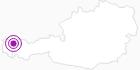 Unterkunft Bergbauernhof Rinner im Kleinwalsertal: Position auf der Karte