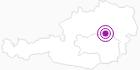 Unterkunft Hotel Drei Hasen in der Hochsteiermark: Position auf der Karte