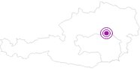 Unterkunft Ferienwohnung Feldbauernhof in der Hochsteiermark: Position auf der Karte