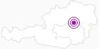 Unterkunft Gasthof Seewirt in der Hochsteiermark: Position auf der Karte