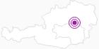 Unterkunft Gasthof Klapper in der Hochsteiermark: Position auf der Karte