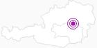 Unterkunft Ferienwohnung Schneeweiß in der Hochsteiermark: Position auf der Karte