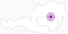 Unterkunft Bauernhof Gregorbauer in der Hochsteiermark: Position auf der Karte