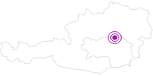 Unterkunft Privatzimmer/Ferienwohnung Todt in der Hochsteiermark: Position auf der Karte
