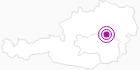 Unterkunft Gasthof Mooshubenwirt in der Hochsteiermark: Position auf der Karte
