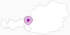 Unterkunft Romantikpension Lehrberg im Pillerseetal: Position auf der Karte