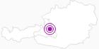 Unterkunft FAMILIENGÄSTEHAUS - INGRID - SKI - AMADE` in Tennengau-Dachstein West: Position auf der Karte