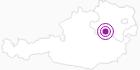 Accommodation Biobauernhof Digruber in the Mostviertel: Position on map