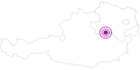Unterkunft Haus Bernold im Mostviertel: Position auf der Karte