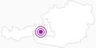 Unterkunft Appartement Landhaus Griesser in Zell am See - Kaprun: Position auf der Karte