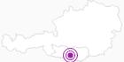 Unterkunft Ferienhaus Gerlitzen-Hütte in Villach-Warmbad / Faaker See / Ossiacher See: Position auf der Karte