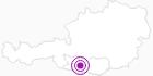 Accommodation Laßbacher at the Lake Millstatt: Position on map