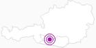 Accommodation Hartlieb at the Lake Millstatt: Position on map